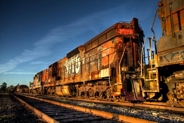 Freight_Train-sunset