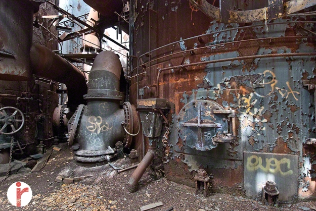 Carrie Furnace — Visible Spectrum Image